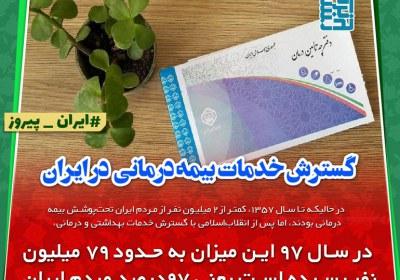 چی بودیم چی شدیم: گسترش خدمات بیمه درمانی در ایران