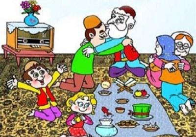 نوروز، حجاب، عید