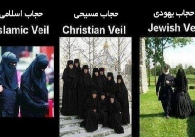 حجاب، حکم خدا برای تمام ادیان