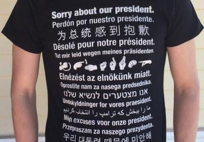 تی شرت سخنگو