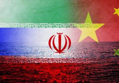رزمایش ایران روسیه چین