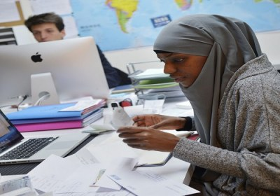 حجاب زن مسلمان