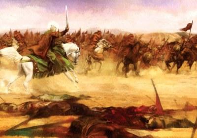 امام حسین در کربلا