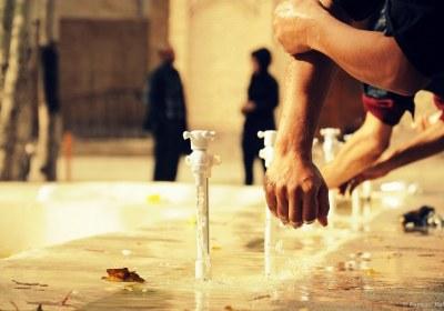 حکم سه مرتبه شستن اعضا در وضو