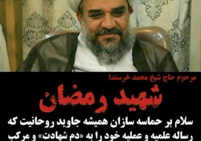 حجتالاسلام محمد خرسند