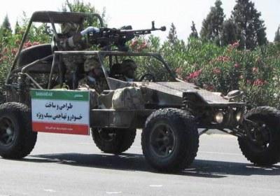 ساخت انواع خودروهای نظامی
