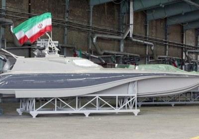 قایق تنروی سپاه