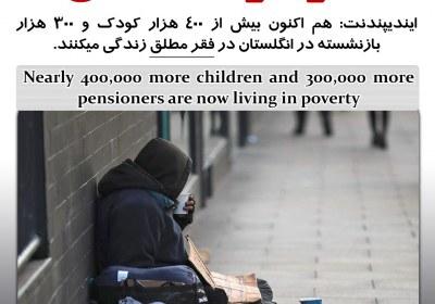 فقر در انگلستان