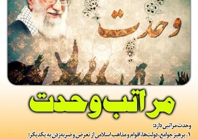 مراتب چهارگانه وحدت اسلامی