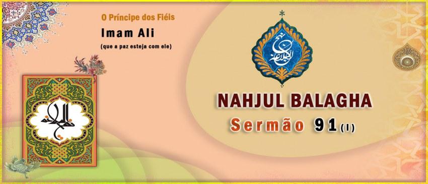 Nahjul Balagha Sermão nº 91
