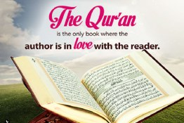 Who is the author of the Holy Qur'an? (2)