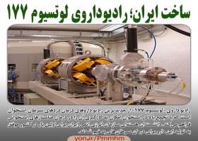 ساخت ایران؛ رادیوداروی لوتسیوم 177
