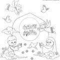 نقاشی کودکان امام زمان