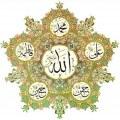 حکم رساندن عضوی از بدن جنب به خط قرآن، نام خداوند، پیامبران و ائمه